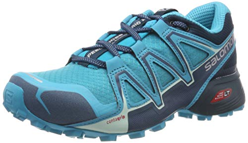 Salomon Speedcross Vario 2, Scarpe da Trail Running Donna, Blu (Bluebird/Reflecting Pond/Mallard Blue Bluebird/Reflecting Pond/Mallard Blue), 40 EU