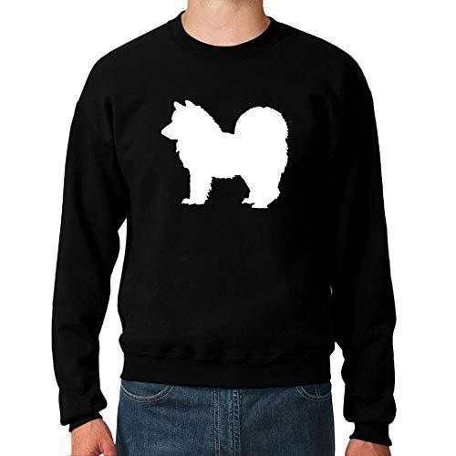 Idakoos American Eskimo Dog Shape Sweatshirt M -