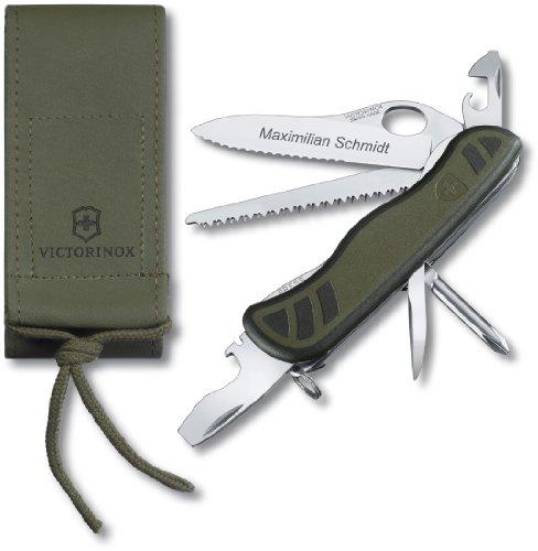Victorinox Soldatenmesser Set 0.8461.mwch, incl. Etui und Wunschgravur auf der Klinge