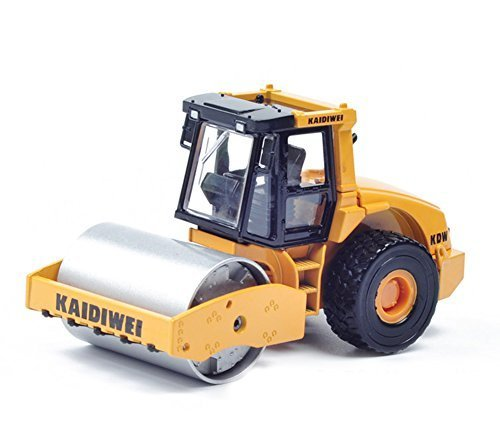 ProEtrade Pro Etrade 1:50 Construction Mini Machine Vehicles Trucks Road Roller Toy