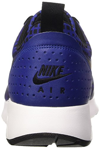 Nike Air Max Tavas Print, tour de formation homme Multicolore (Deep Royal Bleue/Noir-Blanc)