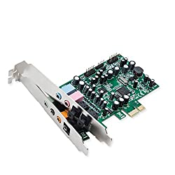 Syba 7.1 Surround Sound Pci-e Sound Card
