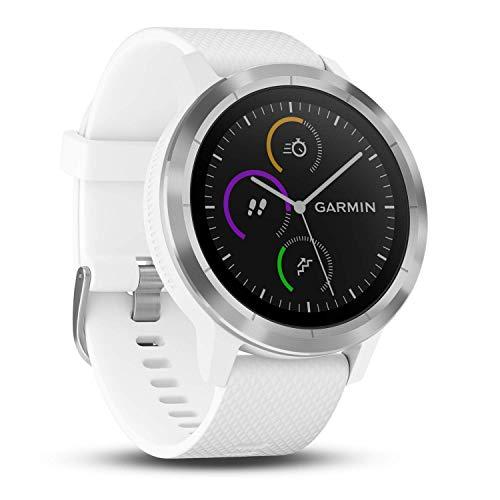 Garmin vívoactive 3 GPS-Fitness-Smartwatch - vorinstallierte Sport-Apps, kontaktloses Bezahlen mit Garmin Pay -