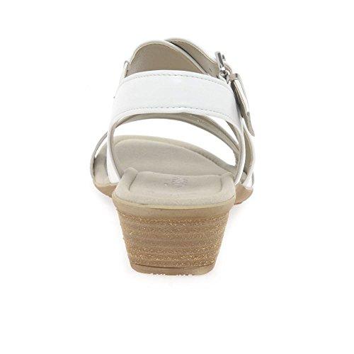 Gabor Jenya Womens Sandali Casual Bianco