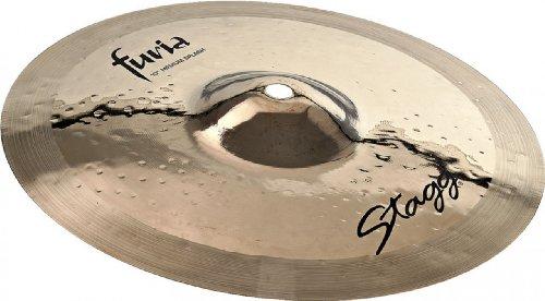 Stagg f-sm10b 25,4cm Furia Medium Splash Becken