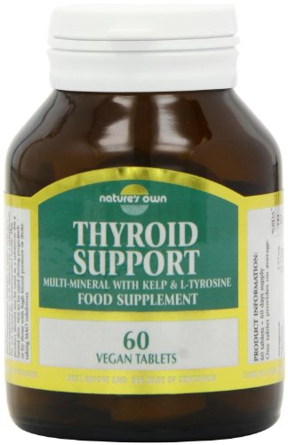 Natures Own Thyroid Suppo 60 Tablets Test