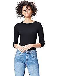 Amazon Brand - find. Women's Long Sleeve Crew Neck T-Shirt