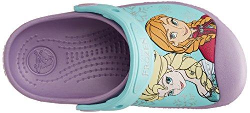 Crocs Frozen Iris, Sabots fille Violet (Iris)
