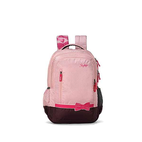 Skybags Bingo Plus 35.9856 Ltrs Pink School Backpack (SBBIP06PNK)