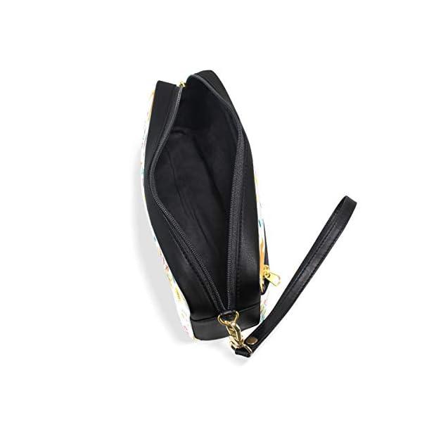 Bonie – Estuche para lápices, diseño de zorro étnico con plumas y flechas