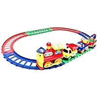 RVM Toys Battery Operated Cartoon Series Play Train Toy for Kids with Color Engine Track Train Set with Tracks Boys and…
