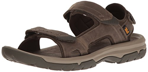 Teva Herren Langdon Sandal M's, Braun (Walnut), 44.5 EU