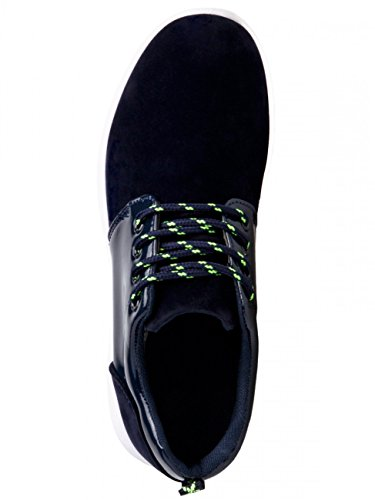 CASPAR SSN001 Chaussures Sneakers pour femme bleu foncé
