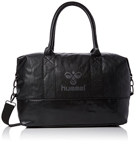 hummel Jet M Weekend Bag Tasche, Black, 48 x 40 x 20 cm