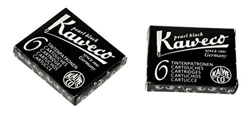 Kaweco-Set 6cartuchos tinta color negro