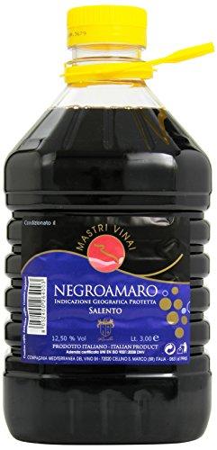 Mastri Vinai - Negroamaro, Vino Salento, 3 l