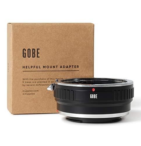 Gobe - Bague d'adaptation pour objectifs: Compatible avec Les objectifs Canon EOS (EF/EF-S) et Les boîtiers Sony de Gamme E