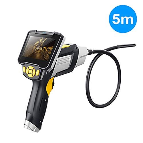 GMACCE Endoscopio Industriale Digitale, endoscopio 1080P, Telecamera di ispezione per videoscopio a Prova di perossigeno LCD Impermeabile, Schermo LCD a Colori da 4,3 Pollici