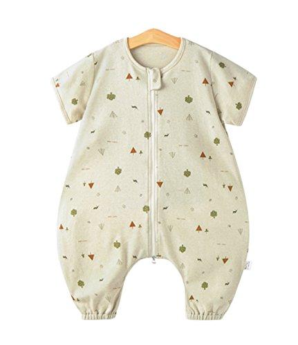 Chilsuessy Sommerschlafsack Baby Schlafsack Sommerschlafsack 0.5 Tog Kinder Schlafanzug Babyschlafsack /Ärmellos f/ür Neugeborene 100/% Baumwolle Hund S//Baby Hoehe 60-70cm
