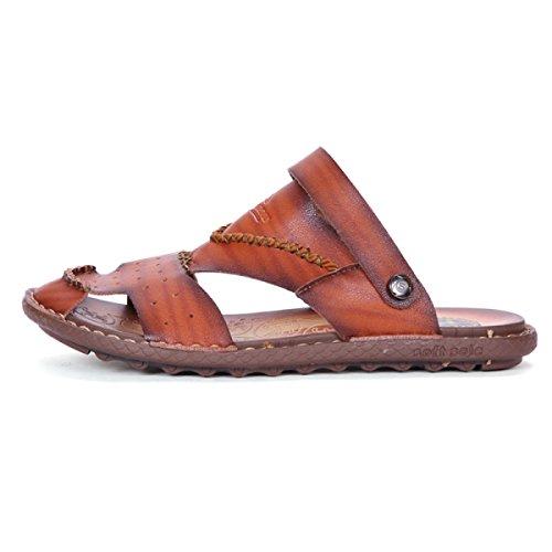 Sapatos Vadear Chinelos Vermelho Ao Dos Homens Sandálias Livre Ar wxnfOFYv