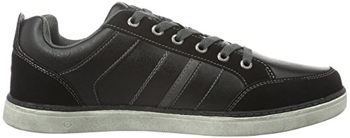 Lico Mens Boston Low-top Nero (nero / Grigio)