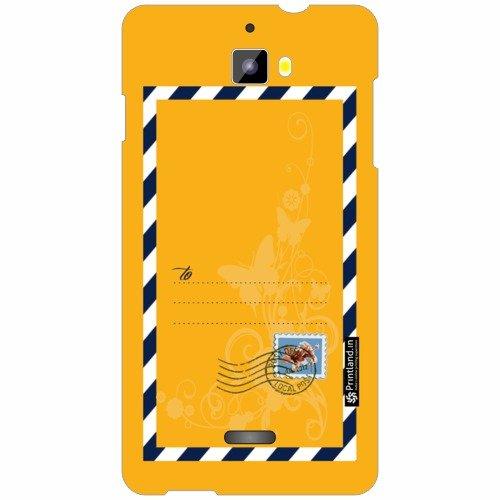 Micromax Canvas Nitro A311 Back Cover - Silicon Yellow Designer Cases