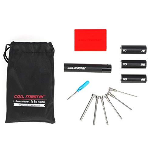 Coil Master Coiling Kit Version 4 Werkzeug zum Selbstwickeln, Wickelzubehör, 1er Pack (1 Stück) (Diy Box Mod)