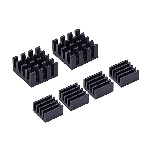 6-pieces-black-aluminum-heatsink-cooler-cooling-kit-for-raspberry-pi-3-pi-2-and-model-b-pi-zero