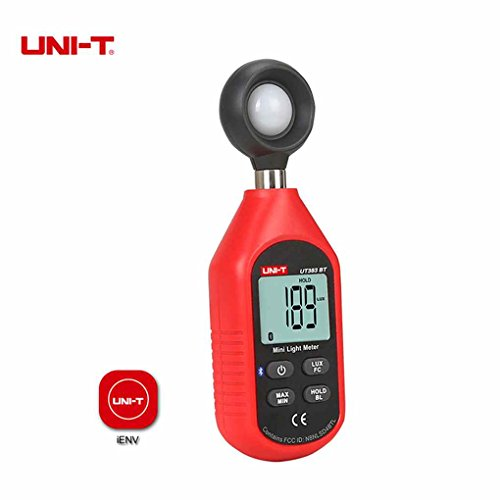 Befaith UNI-T UT383BT Digital Luxmeter Bluetooth Mini-Belichtungsmesser Umweltprüfung Handheld-Illuminometer