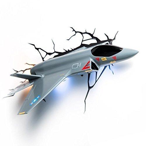 3d-deco-light-jet-kampfer-sieht-aus-wie-der-jet-durch-die-wand-gebrochen-spielzimmer-kinderzimmer