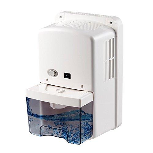 Pyrus 1500ml tragbarer Mini-Luftentfeuchter zum Entfernen von Feuchtigkeit, Schmutz und Schimmel aus kleinen Küchen, Schlafzimmern, Wohnwagen, Büros und Garagen
