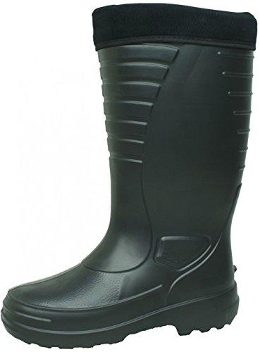 BOCKSTIEGEL - Heiko - Herren EVA-Gummistiefel - Schwarz Schuhe in Übergrößen, Größe:43