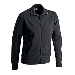 Promodoro 5290F-9D-3XL Sweatshirtjacke Größe 3XL in schwarz