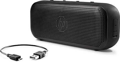 HP 400 (X0N08AA) Bluetooth Lautsprecher (kabellos, bis zu 8h Laufzeit, USB Anschluss) schwarz -