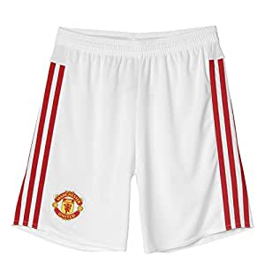 adidas Manchester United Short Home 2015/2016 Kinder, weiß / rot, L