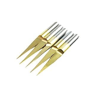Autek PCB Engraving CNC Bit Tool Cutter 5 Hartmetall J3.1001 10° 0.1 mm