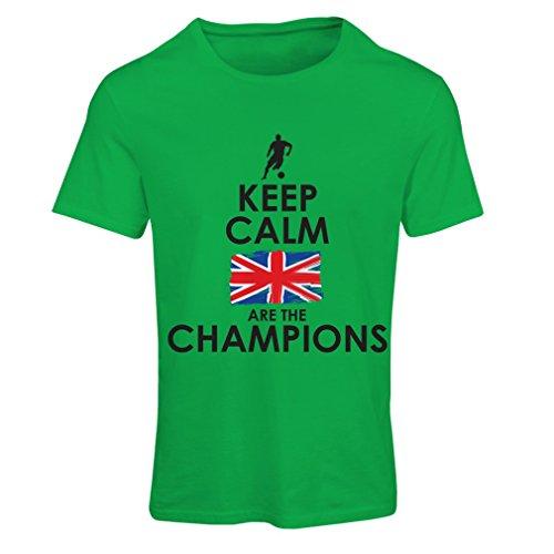 lepni.me Maglietta Donna North Irish Are The Champions ! (X-Large Verde