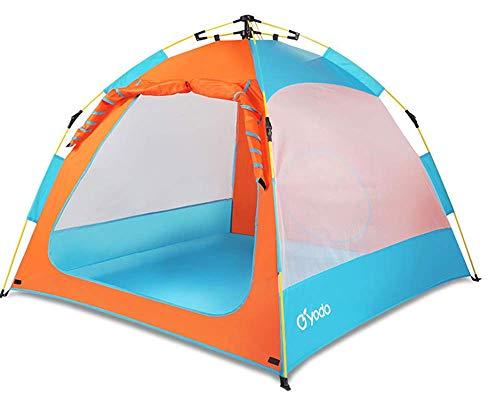 LUEMDSS Outdoor-Sportarten Hochwertiges Zelt Campingzelt Children Play Open Tent Boy Girl Toy House Beach Shade Game Anti-Mosquito Tent
