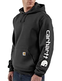 Carhartt à capuche à capuche pull molletonné logo EK219