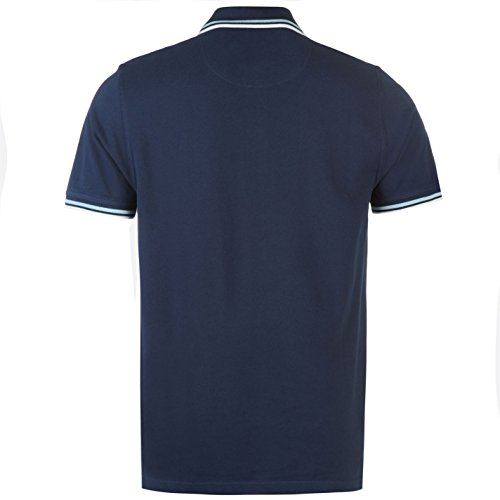 Pierre Cardin Tipped Herren Polo Shirt Kurzarm Tee Top Polohemd Poloshirt Marineblau