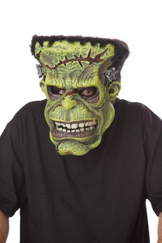 California Costumes Monster-Maske Filmstar für Halloween animiert grün