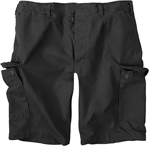normani BW Herren Bermuda Shorts aus robustem Moleskingewebe Farbe Schwarz Größe L