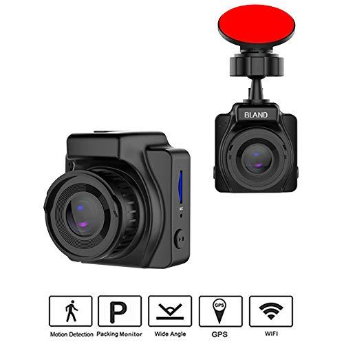 Dash Cam, Dashboard-Kamerarecorder mit Full HD 1080P, 6 Glaslinsen, 170 ° Weitwinkelobjektiv, 1,5-Zoll-2,5-D-LCD und Nachtsicht, G-Sensor, Schleifenaufnahme, Nachtmodus, Parküberwachung, WIFI, GPS - Datei-speichern-modul