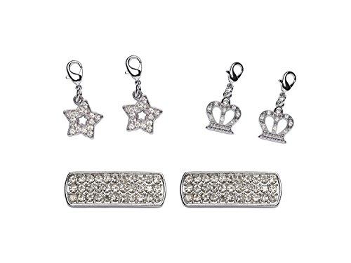 la-loria-charms-ciondolo-pacchetto-6-pezzi-con-moschettone-accessori-con-strass-per-il-braccialetto-