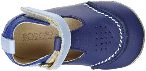 Robeez Salomon, Chaussures de Naissance Bébé Garçon Bleu (Marine Bleu)