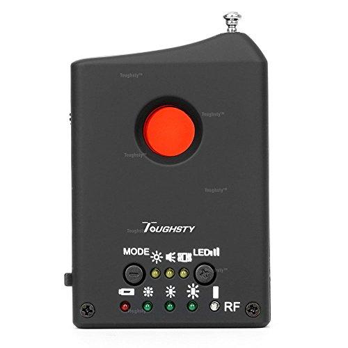 Anti-espía Señal RF Detector de Cámaras y Micrófono Descubridor Dispositivo GSM Sensibilidad de Detección Ajustable