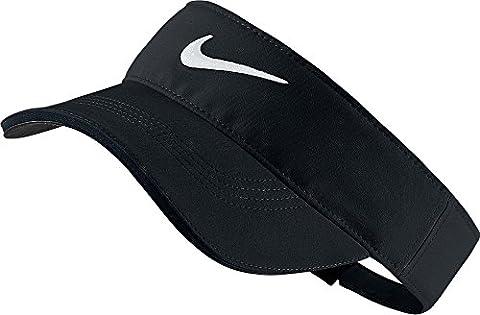 Nike Men's Tech Tour Visor - Black/White
