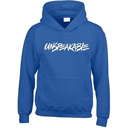 Unspeakable Kids Hoodie YouTube Gamer Boys Girls Vlogger Funny Gift Hooded