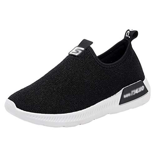 MisFox Donna Sneakers Traspiranti Mesh Scarpe da Ginnastica Usura Antiscivolo Outdoor Fitness Leggere e Traspiranti Scarpe da Corsa