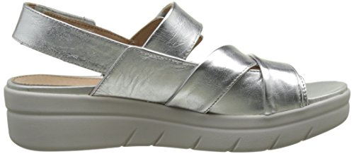 Stonefly Aqua Iii 1, Sandales Bout Ouvert Femme Argent (Silver 058)